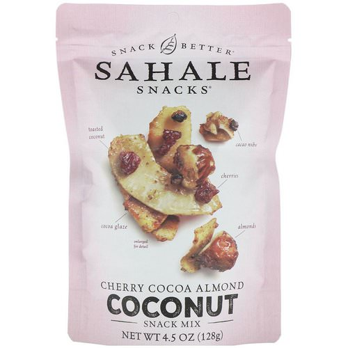 Sahale Snacks, Snack Mix, Cherry Cocoa Almond Coconut, 4.5 oz (128 g) Review