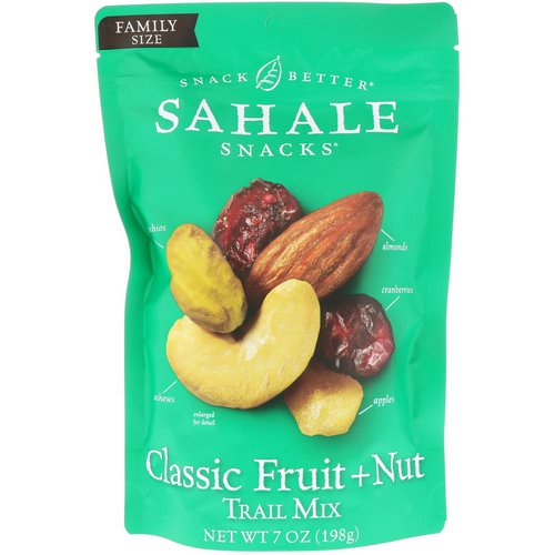 Sahale Snacks, Trail Mix, Classic Fruit + Nut, 7 oz (198 g) Review