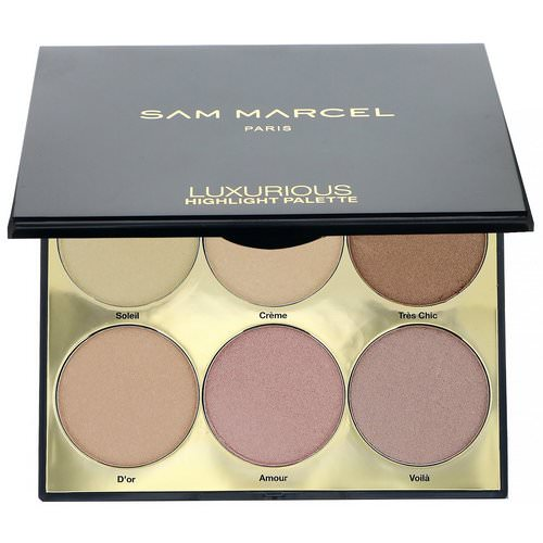 Sam Marcel, Luxurious Highlight Palette, 0.63 oz (18 g) Review