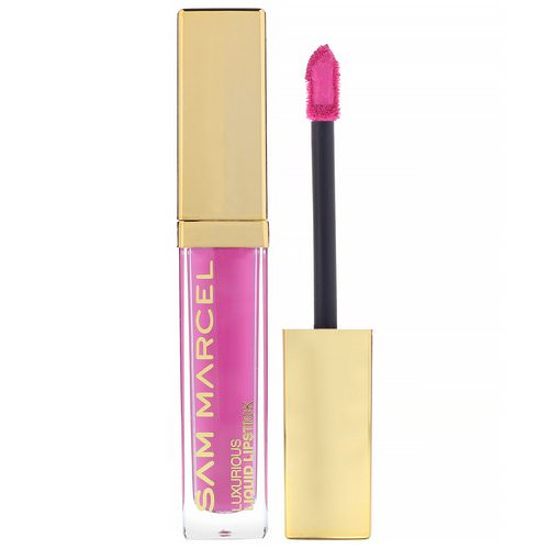 Sam Marcel, Luxurious Liquid Lipstick, Rose, 0.185 fl oz (5.50 ml) Review