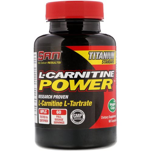 SAN Nutrition, L-Carnitine Power, 60 Capsules Review
