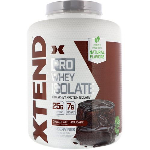 Scivation, Xtend Pro, Whey Isolate, Chocolate Lava Cake, 5 lb (2.3 g) Review