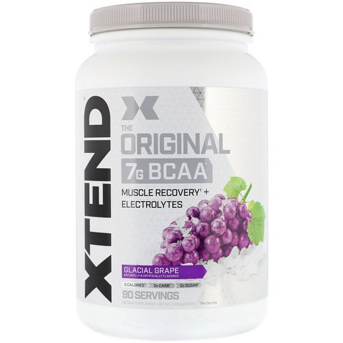 Scivation, Xtend, The Original 7G BCAA, Glacial Grape, 2.68 lb (1.22 kg) Review