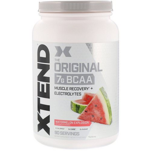 Scivation, Xtend, The Original, Watermelon Explosion, 2.58 lb (1.17 kg) Review