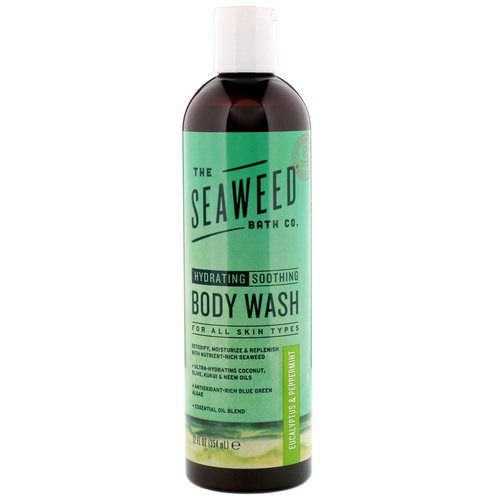 The Seaweed Bath Co, Hydrating Body Wash, For All Skin Types, Eucalyptus & Peppermint, 12 fl oz (354 ml) Review