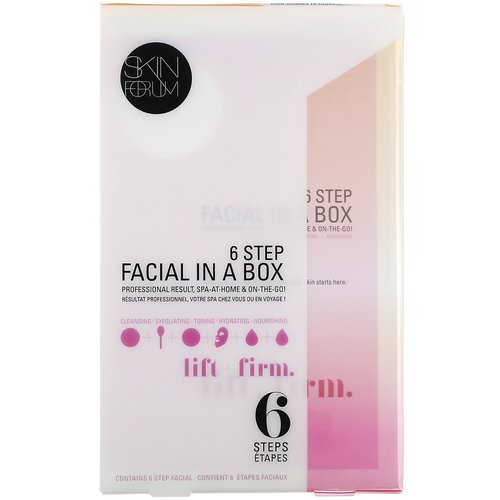 SFGlow, 6 Step Facial In A Box, Lift + Firm, 1 Set Review