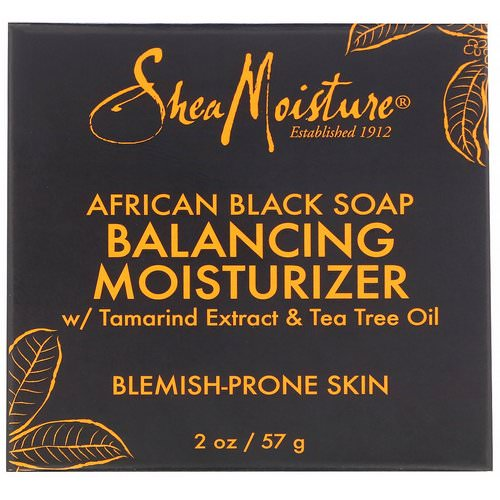 SheaMoisture, African Black Soap, Balancing Moisturizer, 2 oz (57 g) Review