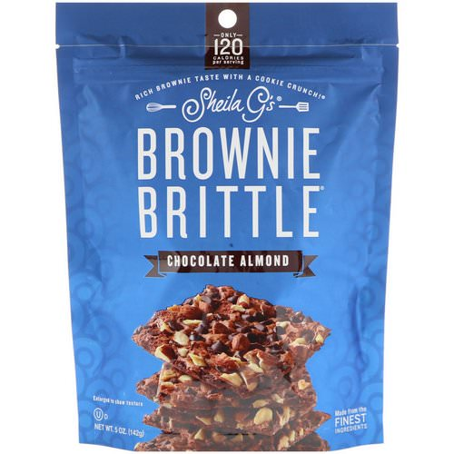 Sheila G's, Brownie Brittle, Chocolate Almond, 5 oz (142 g) Review