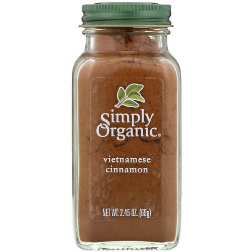Simply Organic, Vietnamese Cinnamon, 2.45 oz (69 g) Review