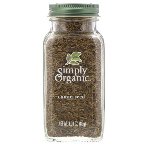 Simply Organic, Cumin Seed, 3.00 oz (85 g) Review