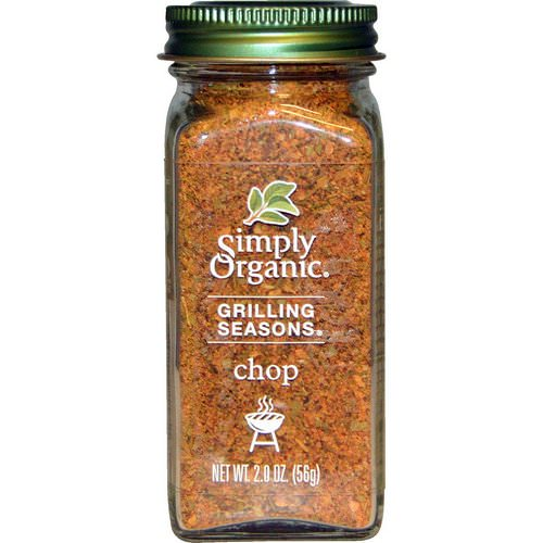 Simply Organic, Organic Grilling Seasons, Chop, 2.0 oz (56 g) Review