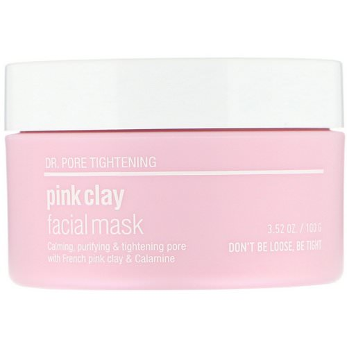 Skin&Lab, Dr. Pore Tightening, Pink Clay Facial Mask, 3.52 oz (100 g) Review