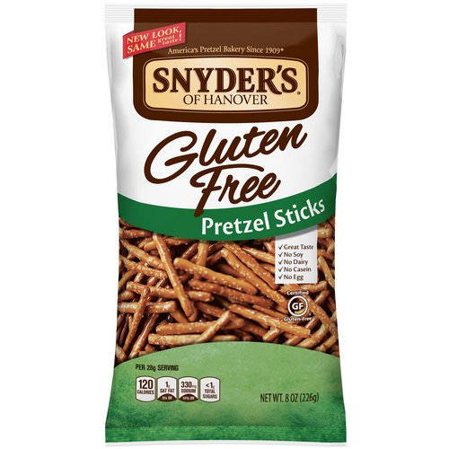 Snyder's, Gluten Free Pretzel Sticks, 8 oz (226 g) Review