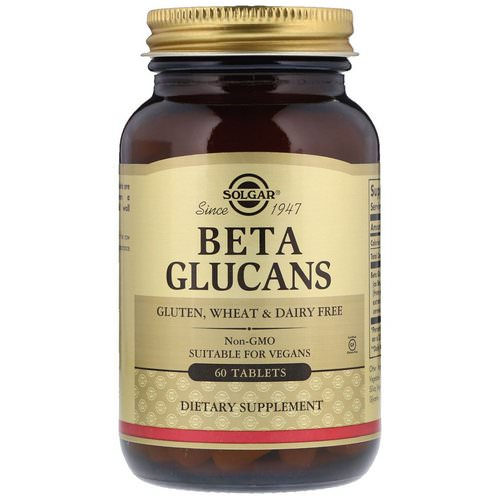 Solgar, Beta Glucans, 60 Tablets Review