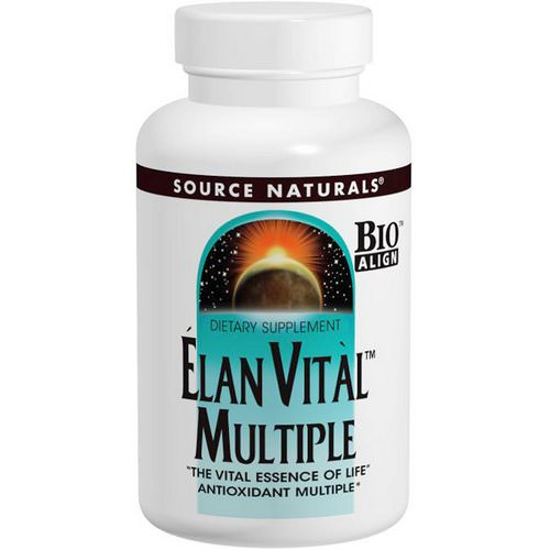Source Naturals, Elan Vital Multiple, 90 Tablets Review