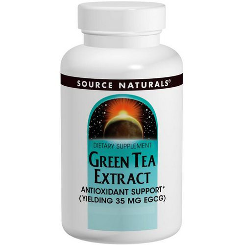 Source Naturals, Green Tea Extract, 60 Tablets Review