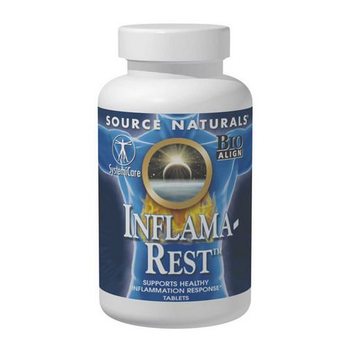 Source Naturals, Inflama-Rest, 60 Tablets Review