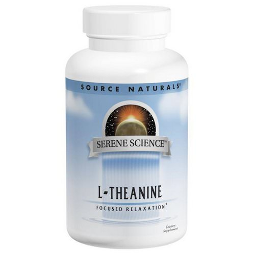 Source Naturals, L-Theanine, 200 mg, 60 Capsules Review