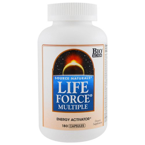 Source Naturals, Life Force Multiple, 180 Capsules Review