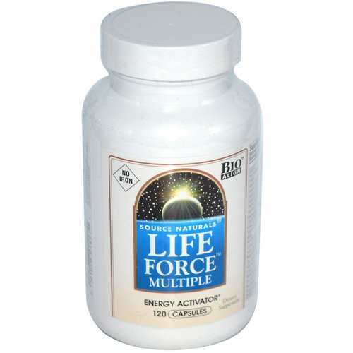Source Naturals, Life Force Multiple, No Iron, 120 Capsules Review