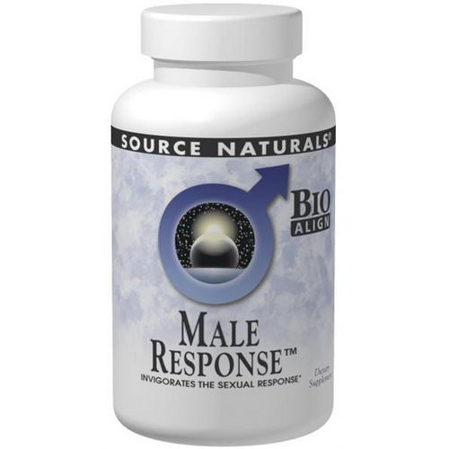 Source Naturals, Male Response, 90 Tablets Review
