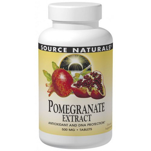 Source Naturals, Pomegranate Extract, 240 Tablets Review