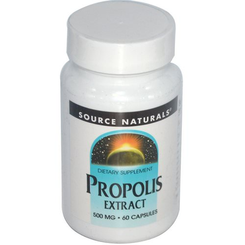Source Naturals, Propolis Extract, 500 mg, 60 Capsules Review
