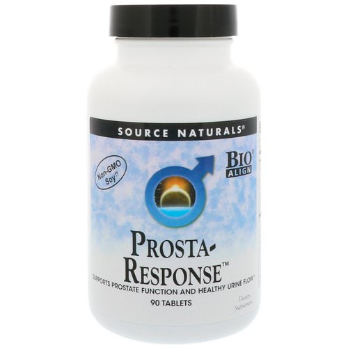 Source Naturals, Prosta-Response, 90 Tablets Review