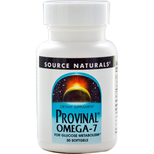 Source Naturals, Provinal Omega-7, 30 Softgels Review