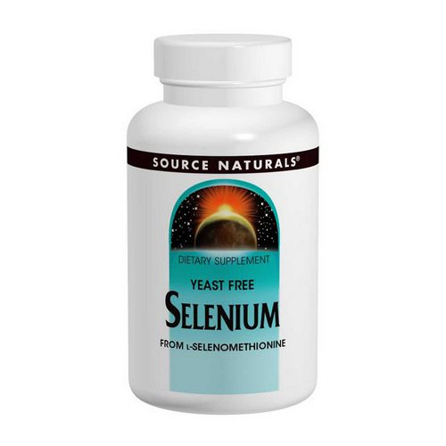 Source Naturals, Selenium, From L-Selenomethionine, 200 mcg, 120 Tablets Review