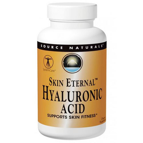 Source Naturals, Skin Eternal, Hyaluronic Acid, 50 mg, 120 Tablets Review