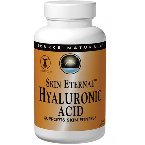 Source Naturals, Skin Eternal Hyaluronic Acid, 50 mg, 60 Tablets Review