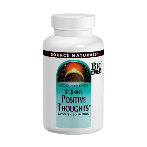 Source Naturals, St. John's Positive Thoughts, 45 Tablets Review