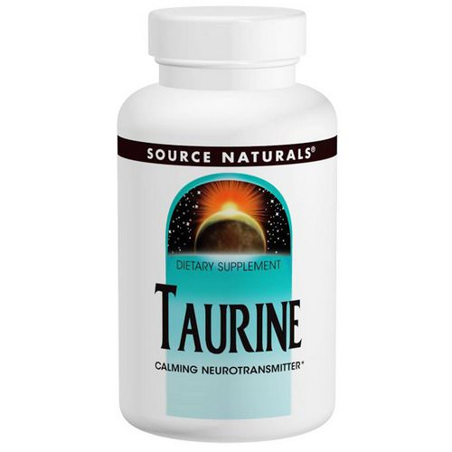 Source Naturals, Taurine 1000, 1,000 mg, 240 Capsules Review
