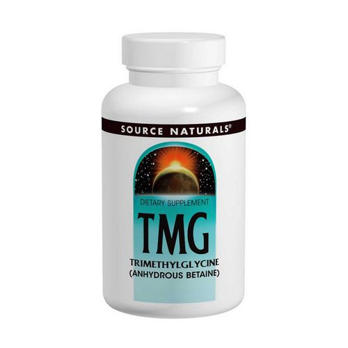 Source Naturals, TMG, Trimethylglycine, 750 mg, 240 Tablets Review