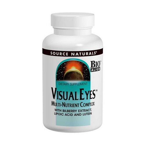 Source Naturals, Visual Eyes, Multi-Nutrient Complex, 90 Tablets Review