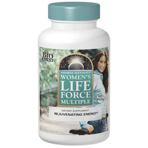 Source Naturals, Women's Life Force Multiple, No Iron, 90 Tablets Review