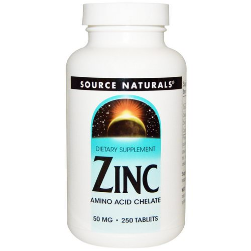 Source Naturals, Zinc, 50 mg, 250 Tablets Review