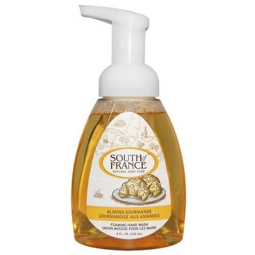 South of France, Foaming Hand Wash, Almond Gourmande, 8 fl oz (236 ml) Review