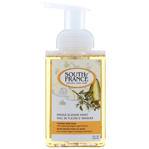 South of France, Foaming Hand Wash, Orange Blossom Honey, 8 fl oz (236 ml) Review