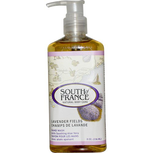 South of France, Lavender Fields, Hand Wash with Soothing Aloe Vera, 8 oz (236 ml) Review