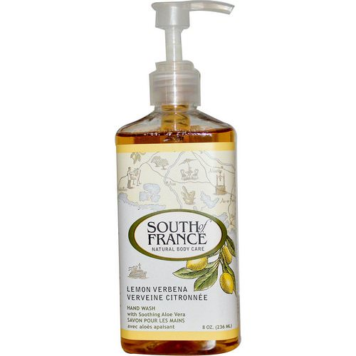 South of France, Lemon Verbena, Hand Wash with Soothing Aloe Vera, 8 oz (236 ml) Review