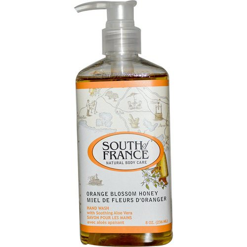South of France, Orange Blossom Honey, Hand Wash with Soothing Aloe Vera, 8 oz (236 ml) Review