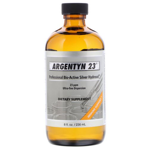 Sovereign Silver, Argentyn 23, Professional Bio-Active Silver Hydrosol, 8 fl oz (236 ml) Review
