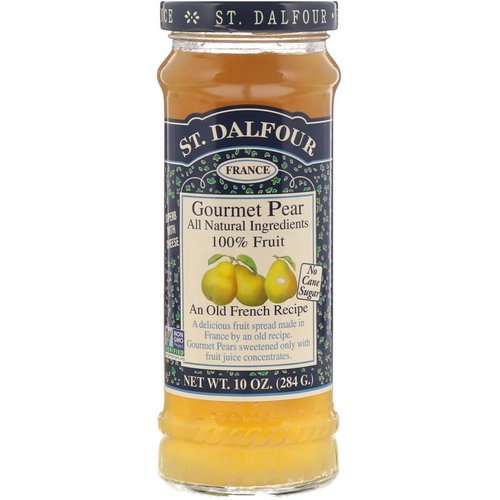 St. Dalfour, Gourmet Pear, 100% Fruit Spread, 10 oz (284 g) Review