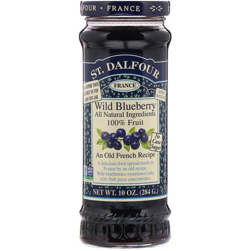 St. Dalfour, Wild Blueberry, Deluxe Wild Blueberry Spread, 10 oz (284 g) Review