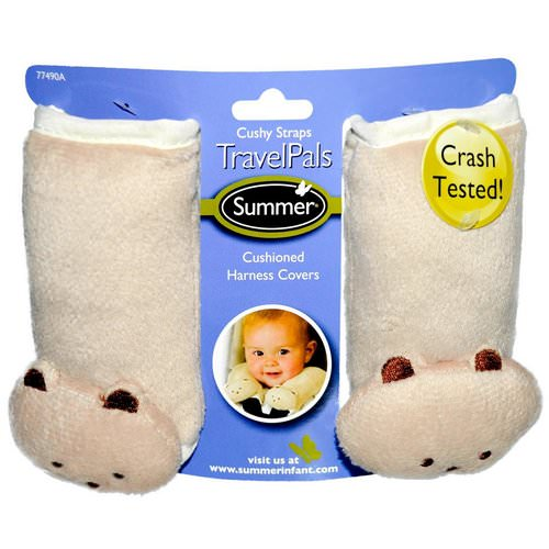 Summer Infant, Travel Pals, Cushy Straps, 2 Harness Covers Review
