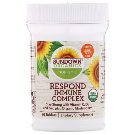 Gripe, Tos Sundown Organics Cold Cough Flu