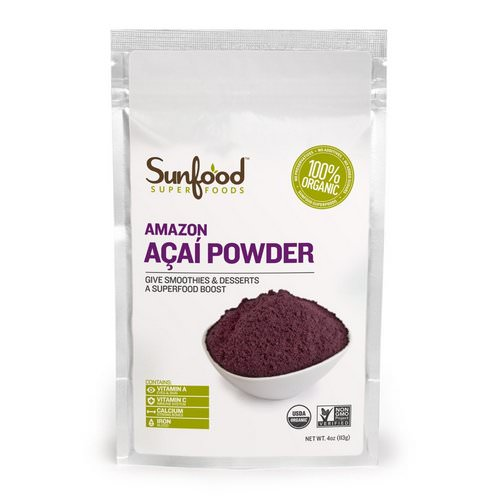 Sunfood, Amazon Acai Powder, 4 oz (113 g) Review