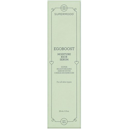 Supermood, Egoboost, Moisture Kick Serum, 1 fl oz (30 ml) Review